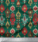 Soimoi 58 Inches Wide Rayon Viscose 115 Gsm Fabric Ikat Sewing Craft Material