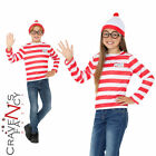 Kids Wheres Wally Instant Kit Book Day Week Boys Girls Child Fancy Dress Outfit