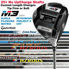 TaylorMade M3 Driver 25+ No Up-Charge Custom Shafts Pick One - New 2018