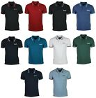 Mens Polo T Shirt Lambretta Designer Branded Top Polo TShirt All Size S to 4XL