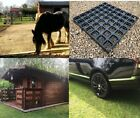 ECO PACKS of LOG CABIN SHED BASE GRAVEL GRASS GRIDS DRIVE MATS ALL SIZES UK MADE