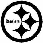 Pittsburgh Steelers Football Team Vinyl Logo Sports Free shipping Sports Gift