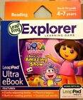 NEW**LeapFrog Explorer Learning Nickeloeon Dora the Explorer Dora's Amazing Show