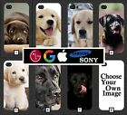 Labrador Phone Case Cover Dog Pet Puppy Personalised Custom Dogs Cute Black 278