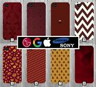Maroon Pattern Phone Case Cover Red Dark Google Pixel 2 Note 8 a3 iPhone X +  75