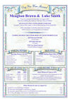 Personalised Wedding Gift -  Day You Were Married Certificate  A4 &A3