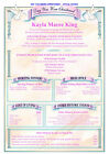 Personalised Christening/ Baptism Gift  Boy Girl Baby Keepsake Certificate A4 A3