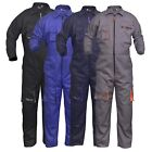 Work Wear Men's Overalls Boiler Suit Coveralls Mechanics Boilersuit Protective