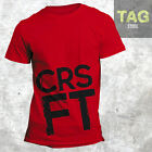 T-shirt CROSSFIT CRSFT FUNCTIONAL FITNESS T-shirt Workout WOD motivation man GYM
