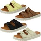 Ladies Down To Earth Casual Slip On Mule Sandals