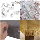 """Attmu Clear Heads Twist Pins For Upholstery, Slipcovers And Bedskirts, 0.75"""" NEW"""