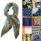 Big Square 70cm x 70cm Ladies Womans Silky Head Neck Scarf - Various Designs