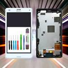 Display for Original Sony XperiaZ3 Compact D5803 Mini LCD Touch Frame Tool White
