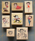 RARE COLLECTIBLE BETTY BOOP  ~ RUBBER STAMPS ~ YOU PICK! ~ HARD TO FIND DESIGNS! $16.14 USD