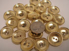 New lots of Gold Metal Buttons sizes 5/8,11/16, 7/8 inch Blazers & Jackets  #G23