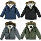 NWT Hollister by A&F Mens Hollister All-Weather Sherpa-Lined Parka - Size XL