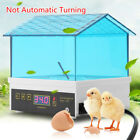 Digital Egg Incubator Temperature Control Automatic Turning Chicken Duck Bird US <br/> 4/10/24/48/56 Eggs Incubator FREE FAST SHIPPING