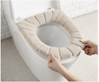 30cm Bathroom Toilet Seat Closestool Warmer Mat Washable Soft Cover Pad Cushion