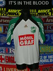 4.5/5 SV Grün-Weiss Pirna adults XXL #4 matchworn football shirt jersey trikot