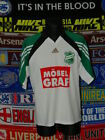 4.5/5 SV Grün-Weiss Pirna adults XXL #9 matchworn football shirt jersey trikot