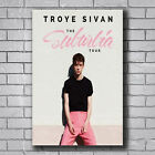 C4467 Art Troye Sivan Suburbia Tour Pop Music Cover Poster Hot Silk Gift
