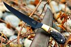 DKC-612 BLACK STAG FISHING Filet KNIFE Hunting Handmade Knife Fixed Blade 8.5 oz
