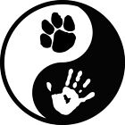 Home Decor And Flooring Yin Yang Paw Hand Print Decal Window Bumper Sticker Car Pet Love Dog Cat Ying Catalogue For Home Decor