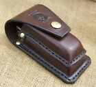 Leather sheath for leatherman multitool surge 300- heavy duty handmade by seller