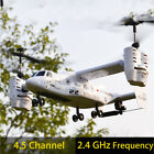 Osprey 2.4G Transport Aircraft Helicopter Drone RC Toy Replaceable Battery US
