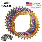 Внешний вид - SNAIL 30T MTB Bike BCD104mm Chainring Bicycle Narrow-Wide Round Chainwheel Disc