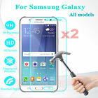2PCS Tempered Glass Screen Protector Film For Samsung Galaxy