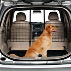 New Adjustable Pet Dog Barrier Partition Car Vehicle SUV Separate Gate Back Seat