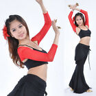 New Belly Dance Costume gloves Armbands Arm Sleeve Bollywood Carnival 10colours