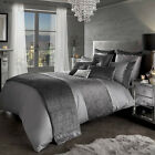 Kylie Minogue Bedding SATURN Grey / Slate Duvet / Quilt Cover Full Bedding Set
