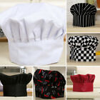 Внешний вид - New Chef Cook Adjustable Soft Pubs Comfy Cap Elastic Kitchen Baker Hat Catering