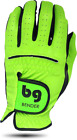 BENDER COLOR GOLF GLOVE ● Lime Green Synthetic - Cabretta Leather