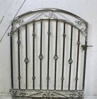 Donovan Wrought Iron Gate - 4' Wide 4' Tall Entry Gate SHIPS FREE