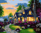 DIY Beauty Scenery Paint By Number Kit Acrylic Oil Painting Art Wall Home Decor