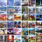DIY Scenery Paint By Number Kit Acrylic Oil Painting Art Wall Home Decor