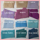 2 yards Solid Chiffon Fabric Polyester Dress Sheer 58'' Wide All Colors