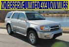 2000+Toyota+4Runner+NO+RESERVE+LIMITED+4X4+LOW+MILES+DIFF+LOCK