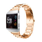 For Fitbit Ionic Watch Stainless Steel Clasp Wrist Band Bracelet Replacement
