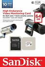 Sandisk 32GB 64GB MicroSDHC MicroSDXC High Endurance Video M