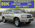 2001+Toyota+4Runner+86%2C384+NO+RESERVE+LIMITED+4X4+MUST+SEE+SUPER+CLEAN