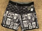 Внешний вид - BRAND NEW HURLEY PHANTOM MENS BOARD SHORTS TAHITI HAWAII ALOHA 32 33 34 36 38 18