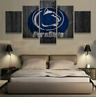 5 pieces NCAA Penn State Nittany Lions Wall Canvas Painting