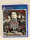 Replacement Case (No Game) Sleeping Dogs Definitive Edition Playstayion 4 PS4