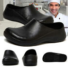 Men Chef Shoes in Kitchen Anti slip Safety shoes Oil  Water Proof for Cooking