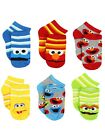 Sesame Street Toddler Boys 6 pack Socks Set SS008EQS SS008