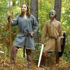 Viking Woollen Tunic in Grey or Brown Ideal for Stage, Re-enactment and Costume